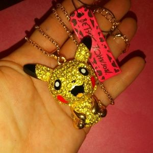 NWT Pikichu Betsey Johnson Necklace